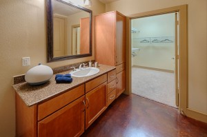 One Bedroom Apartments in Houston, Texas - Model Bathroom & Closet
